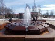 Муравьёвский фонтан — самоизливающийся минеральный фонтан, расположенный на территории курорта, пробурен 18 сентября 1859 года.