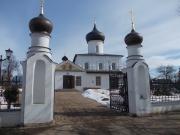 Церковь Св. Великомученика Георгия первоначально была построена архимандритом Варлаамом в 1410 г.