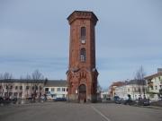 Водонапорная башня, возведена в 1908-1909 гг. Памятник, представляет собой шестигранную кирпичную постройку 50 метров высотой.