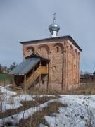 Церковь Мины Мученика. Каменная церковь, по данным последних исследований сооружена в 1-й трети XV в. (вероятно, в 1420-х годах)